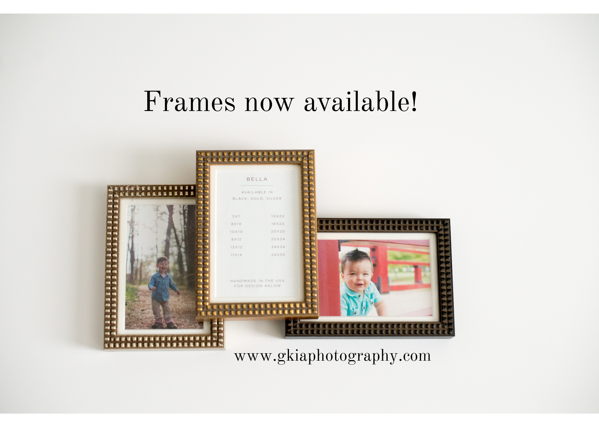 New Product Spotlight :: Frames :: G. Kia Photography, www ...